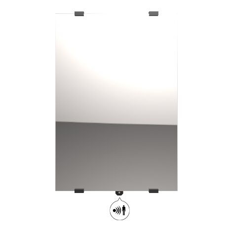 Radiateur vertical CAMPAVER SELECT 3.0 (reflet) - 2000 W - Campa