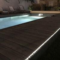 XANLITE - Balise strip LED solaire - 3m blanc - - LSAK3SOLAR