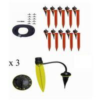 Kit duo max Iriso kit 10 goutteurs avec supports + 3 pieds goutteurs