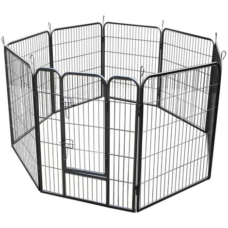 Large Heavy Duty Pet Pen with 8 Panels