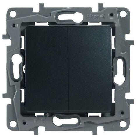 Legrand Fonte Niloe 96632 double interrupteur simple ou va et vient