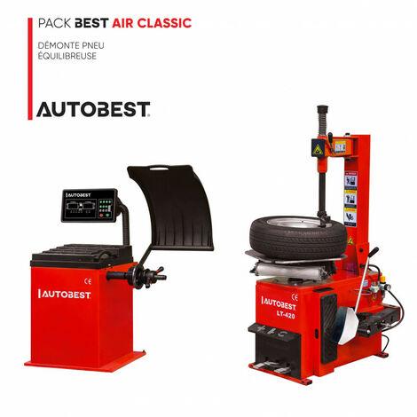 Pack BEST AIR CLASSIC démonte pneu et equilibreuse