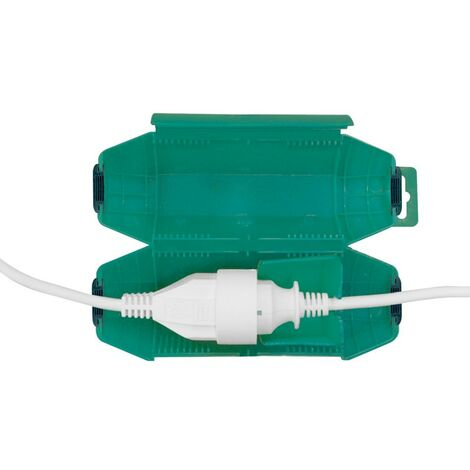 Boitier d'étanchéité pour prolongateurs électriques Vert - Vert