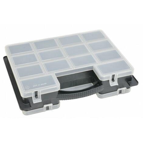 Boite de rangement plastique 23 compartiments