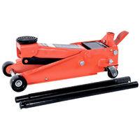 Pack BEST LEVAGE 3T Cric Pro hydraulique roulant double pompe et chandelles voiture à crémaillère