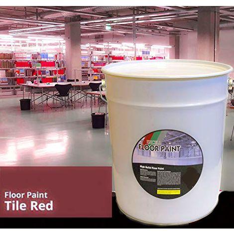 20 LTR Floor Paint - Red Acrylic