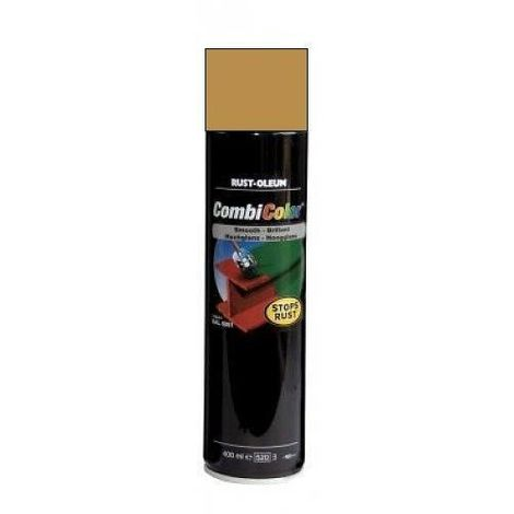 400Ml Rust-Oleum Combicolor Gloss Smooth Gold Spray 7314 - 400 ml