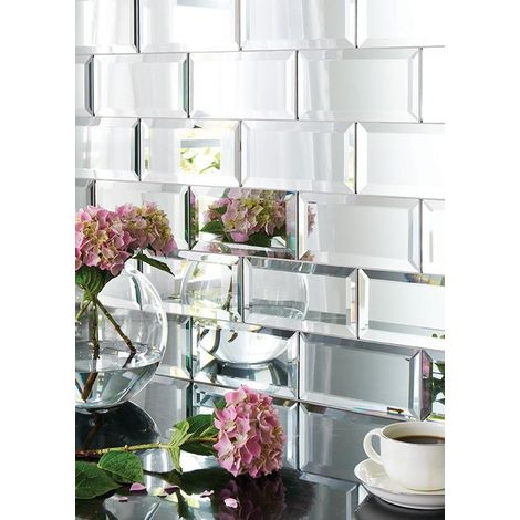 Malla Espejo azulejo para cocina y baño mv-scott