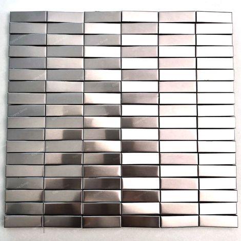 Malla Mosaico de acero en 3D mosaico de pared Mosaico de metal Shelter