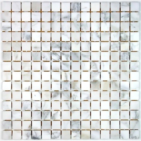 Mosaico piedra baldosas piedra Nizza Blanc