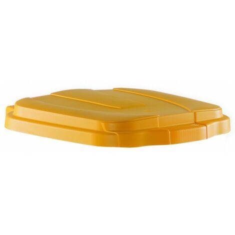 Coperchio per pattumiera lt.100 giallo (1 pz)