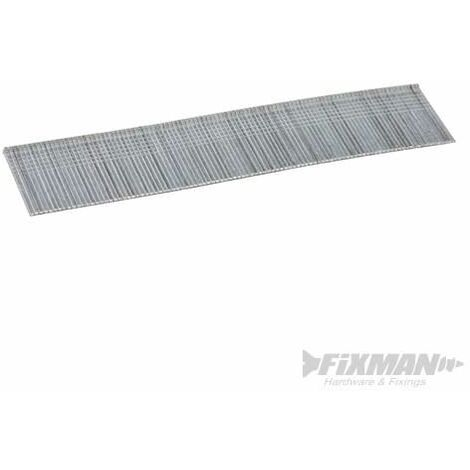 Fixman Galvanised Smooth Shank Nails 18G 5000pk 25 x 1.25mm 585359
