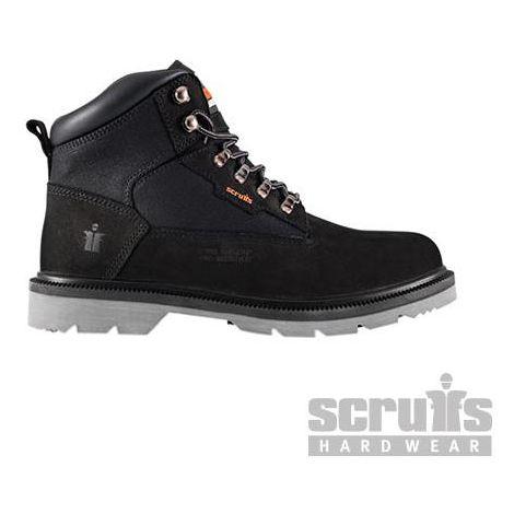 Twister Nubuck Boot Black - Size 6 / 39 (T54321)