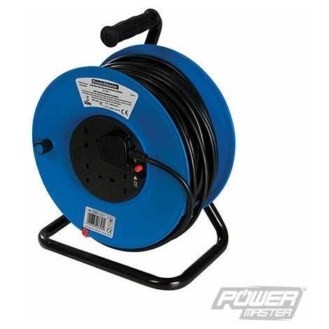 Cable Reel 230V Freestanding - 4-Gang 50m (934311)