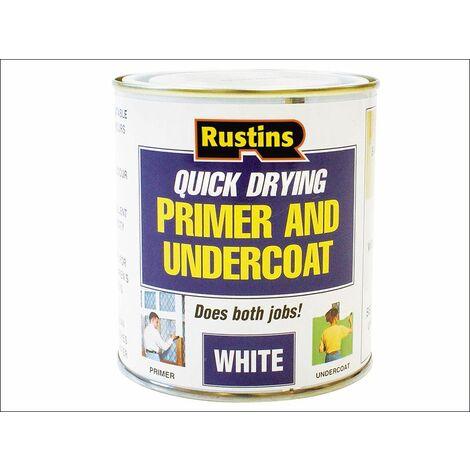 Quick Dry Primer & Undercoat White 250ml RUSQDWPUC250