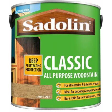 Classic Wood Protection Light Oak 2.5 litre SAD5012901