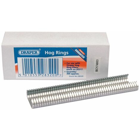 Draper Hog Rings (28320)