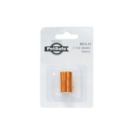 Petsafe Alkaline Battery 6V for Anti Bark Spray Collar - 38731