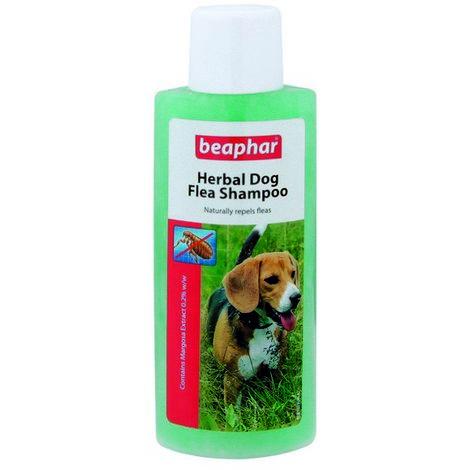 Beaphar Dog Flea Shampoo - (Herbal - green) x 6  (23523)
