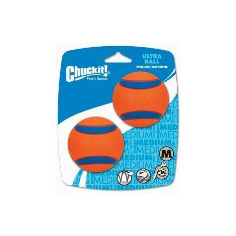 Chuckit Ultra Ball 2 Pack Medium 6.5cm - 39531