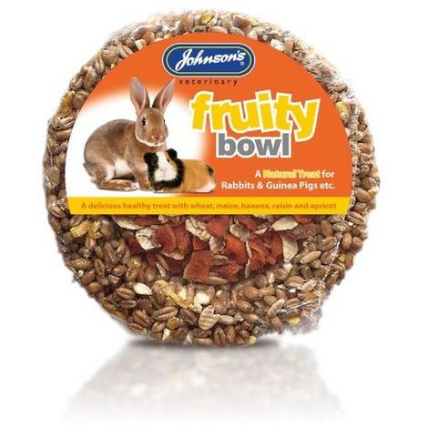 JVP Rabbit & Guinea Pig Fruity Bowl 180g x 8 (260272)
