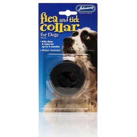 JVP Waterproof Dog Flea & Tick Collar x 6 (720625)