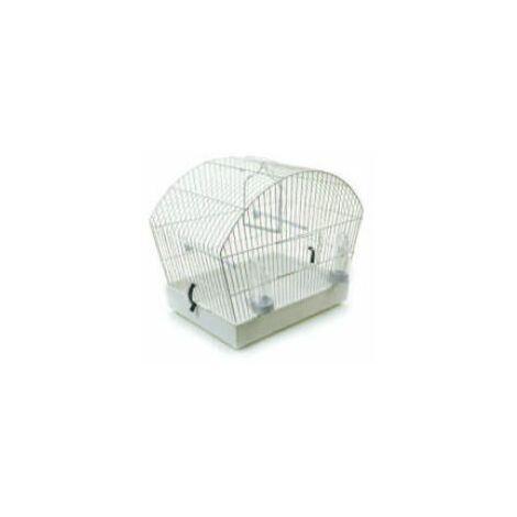 Pennine Alpine Bird Cage White - 45x25 - 504017