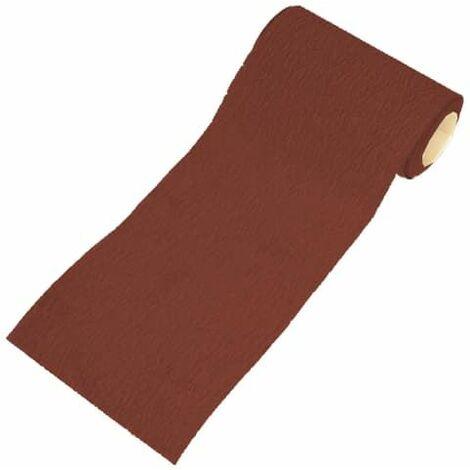 Aluminium Oxide Sanding Paper Roll Red Heavy-Duty 115mm x 5m 120G FAIAR5120R