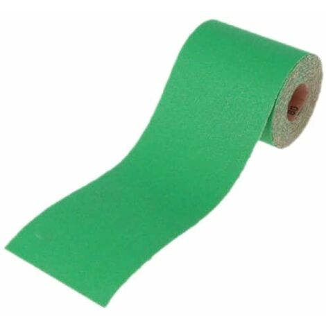 Aluminium Oxide Sanding Paper Roll Green 115mm x 5m 40G FAIAR540G