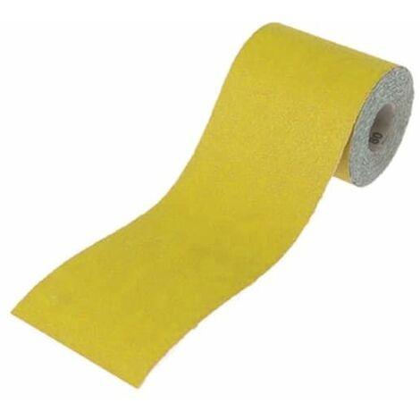 Aluminium Oxide Sanding Paper Roll Yellow 115mm x 5m 60G FAIAR560Y