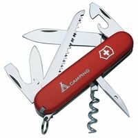Camper Swiss Army Knife Red Blister Pack VICCAMPB