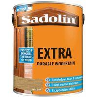 Extra Durable Woodstain Light Oak 5 litre SAD5013002