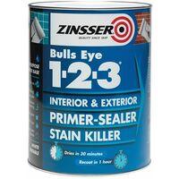123 Bulls Eye Primer & Sealer Paint 500ml ZINBE123500