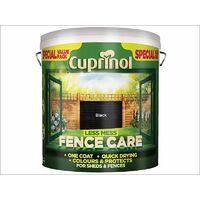 Less Mess Fence Care Black 6 Litre CUPLMFCBL6L