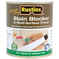 Quick Dry Stain Block & Multi Surface Primer 500ml RUSQDSBP500