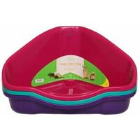Harrisons Small Animal Corner Litter Tray 49cm - 745568