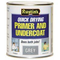 Quick Dry Primer & Undercoat Grey 500ml RUSQDPUG500