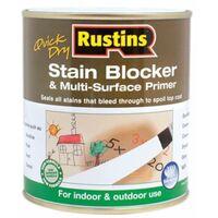 Quick Dry Stain Block & Multi Surface Primer 250ml RUSQDSBP250