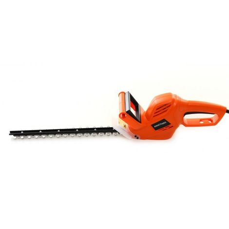 DCRAFT - Cisailles à haies électrique - Puissance 1550 W - Longueur des cisailles 510 mm - Outillage électrique jardinage - Orange