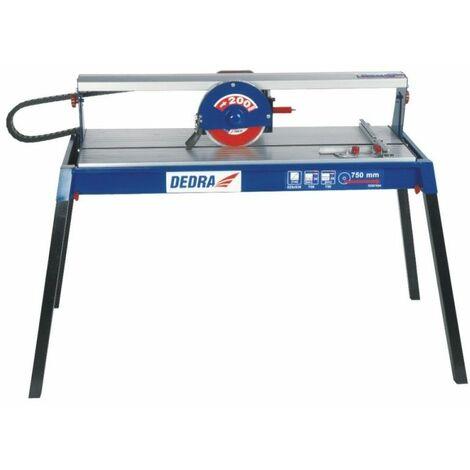 DTOOLS - Scie à carreaux 800 W - Coupeuse carreaux - Scie de carrelage sur table - Coupe carreaux électrique - Découpe à eau - Bleu