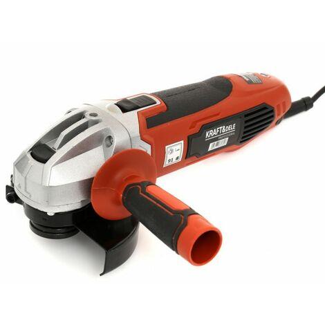 DCRAFT - Meuleuse d'angle électrique  - Diamètre disque 125 mm - Puissance 1600W - Vitesse 12000 - Meuleuse filaire - Orange