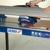 DTOOLS - Scie à carreaux 800 W - Coupeuse carreaux - Scie de carrelage sur table - Coupe carreaux électrique - Découpe humide - Bleu