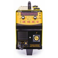 POWER TOOL - Poste à souder Inverter 230A - Soudage MIG MAG MMA LIFT-TIG - SYNERGY Dual Pulse - Technologie IGBT - Jaune