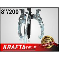DCRAFT - Arrache-roulements - 3 griffes - Pour le démontage des paliers à roulements - Plage de travail 8 20 cm - Noir