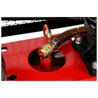 DCRAFT - Compresseur à huile - Capacité 200 L - Alimentation 380V/50Hz - Débit 690 L - Rouge