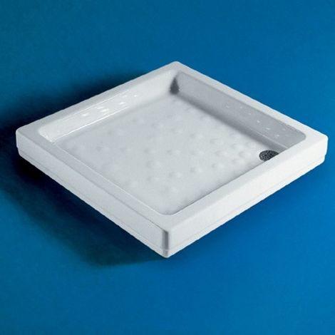 Piatto Doccia 80x80 In Porcellana Bianco Europa T107001 Ideal Standard