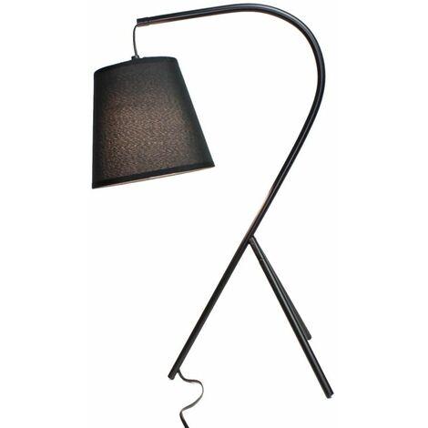 Lampe chevet design à trépied noir - CAMPANA - Noir