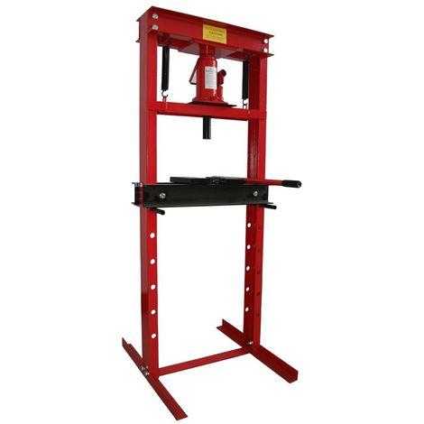 Presse hydraulique d'atelier sur Bati 12T sans Manometre