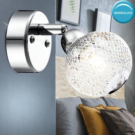 Tahar Deckenspot mit dekorativem Schirm weiß 2-flammig G9