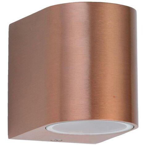 6er Set LED Lampen Außen Bereich Wand Strahler verzinkt Up Down Leuchten IP44